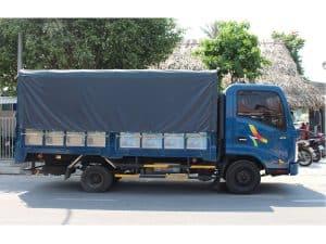 giá xe tải chở hàng