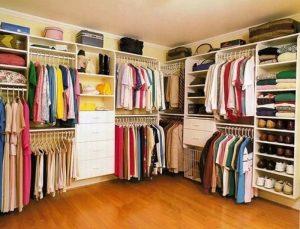 Mẹo sắp xếp tủ quần áo